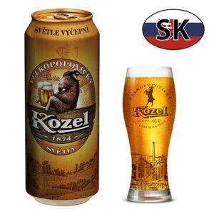 Пиво баночное светлое Kozel 10% 0,5л Словакия