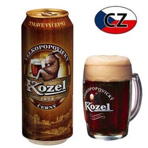 Пиво баночное темное Kozel Černe 10% 0,5л Чехия
