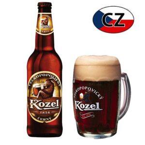 Пиво стекло темное Kozel Černe 10% 0,5л Чехия