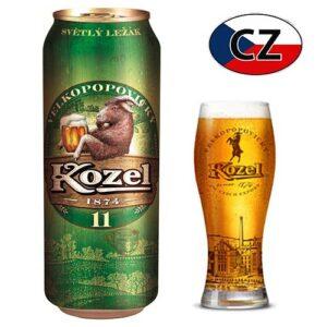 Пиво баночное светлое Kozel 11% 0,5л Чехия