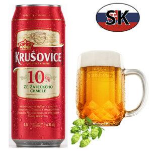 Пиво баночное светлое Krušovice 10% Словакия