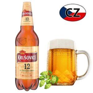 Пиво светлое Krušovice 12% 1,5л Чехия