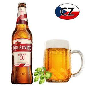 Пиво стекло светлое Krušovice 10% Чехия