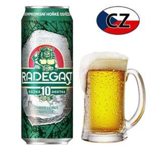 Пиво баночное светлое Radegast 10% 0,5л Чехия