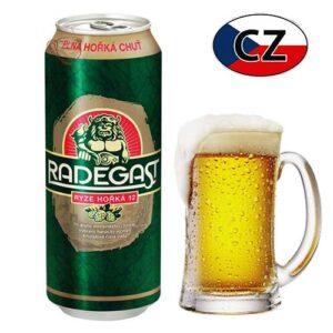 Пиво баночное светлое Radegast 12% 0,5л Чехия