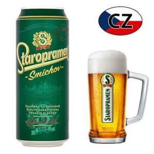 Пиво баночное светлое Staropramen Smíchov 10% 0,5л Чехия