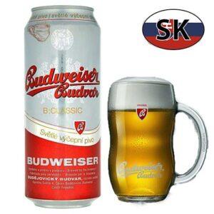 Пиво баночное светлое Budweiser Classic 10% 0,5л Словакия