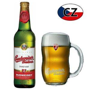 Пиво стекло светлое Budweiser Original 12% 0,5л Чехия
