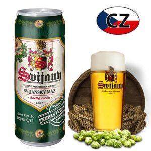 Пиво баночное непастеризованное Svijanský Máz 11% 0,5л Чехия