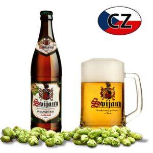Пиво стекло непастеризованное Svijanský Máz 11% 0,5л Чехия