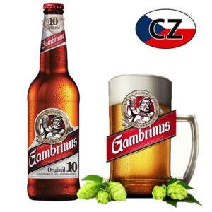 Пиво стекло светлое Gambrinus 10% 0,5л Чехия