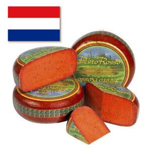 Сыр Базирон Песто красный кусковой Голландия