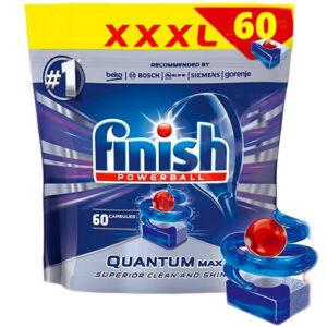 Капсулы для посудомоечных машин Finish Quantum Max 60 шт