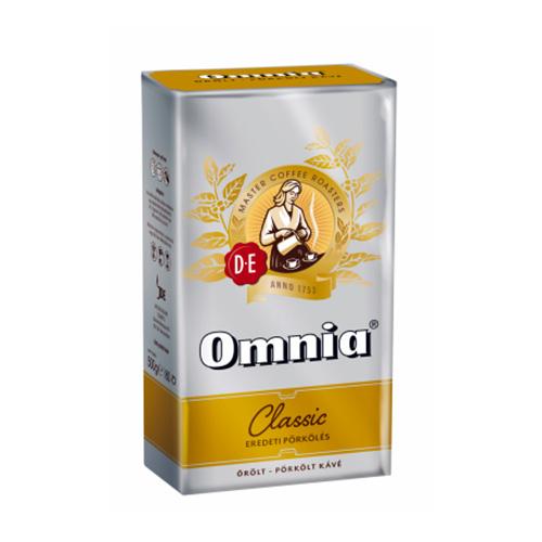 Кофе молотый Omnia Classic. Кофе Омния.