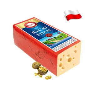 Сыр весовой Ryki Edam 100 грамм Польша