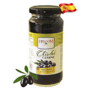 Оливки черные без косточек Helcom 240г Испания