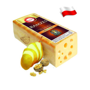 Сыр весовой подкопченый Ryki Ramzes 100 грамм Польша