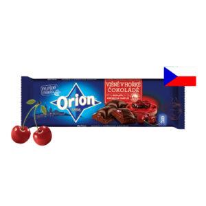 Шоколад черный Orion вишневый джем 240г Чехия