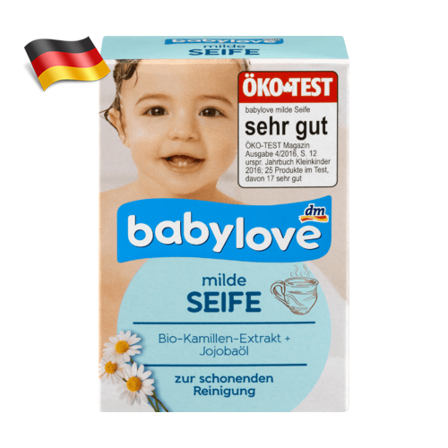 Мыло детское с ромашкой BabyLove 100g Германия