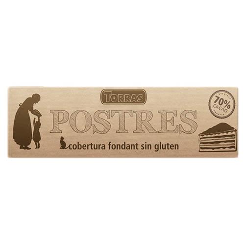 Шоколад черный Torras Postres 70%
