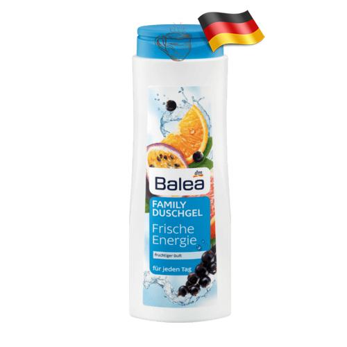 Гель для душа семейный Balea Family Fresh Energy 500мл Германия