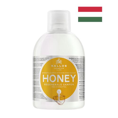 Шампунь восстанавливающий с экстрактом меда Kallos Honey 1л Венгрия