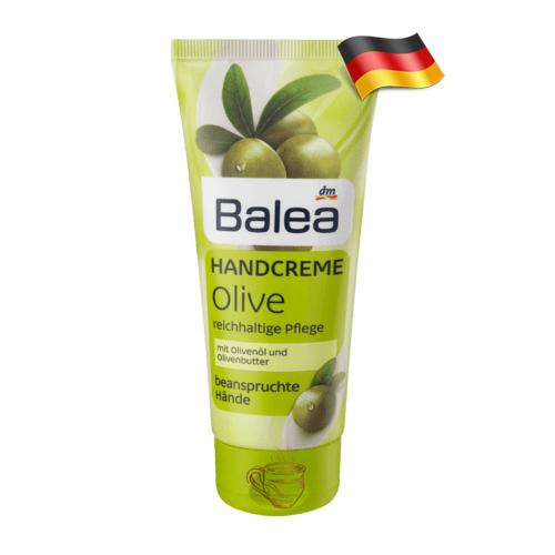 Крем для сухой кожи рук Balea Оливковый 100мл Германия