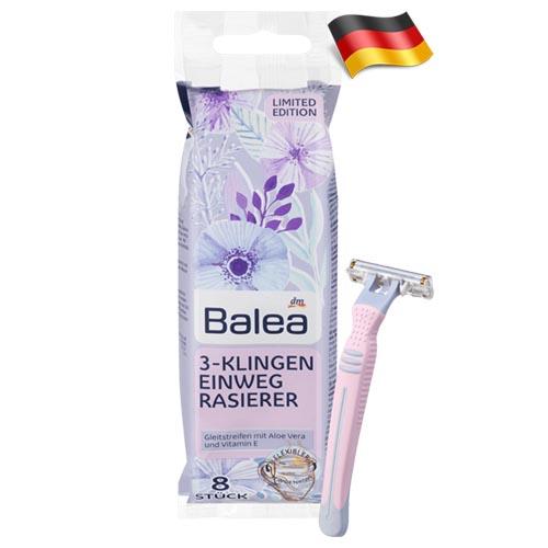 Набор одноразовых бритв Balea Women 3 Германия