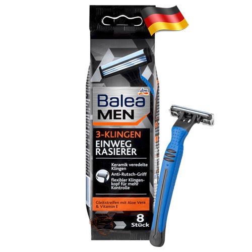 Набор одноразовых бритв Balea Men 3 Германия