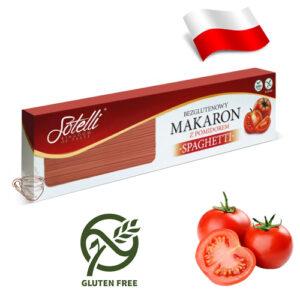 Спагетти из кукурузной муки Sotelli Томат 400г Польша