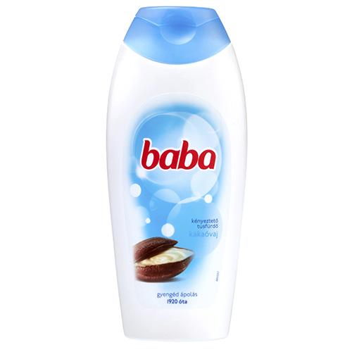 Гель для душа с маслом какао Baba 400 мл