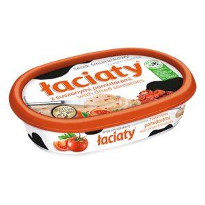 Сыр сливочный Łaciaty z suszonymi pomidorami