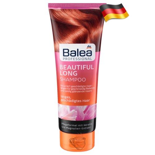 Профессиональный шампунь для поврежденных волос Balea Beautiful 250мл Германия