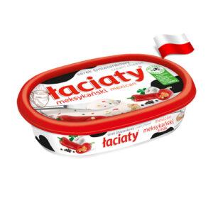Сыр сливочный мексиканский вкус Laciaty 135г Польша