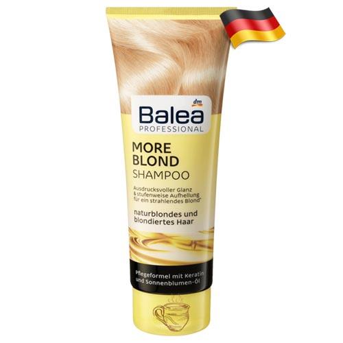 Профессиональный шампунь для блондинок Balea More Blond 250 мл Германия