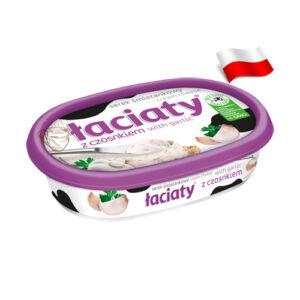 Сыр сливочный с чесноком Laciaty 135г Польша