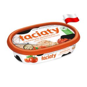 Сыр сливочный с вялеными томатами Laciaty 135г Польша