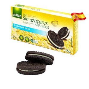 Злаковое печенье-сендвич без сахара Gullon Diet Nature 150g Испания