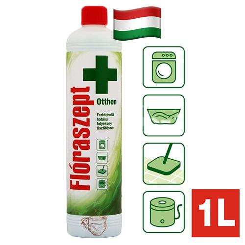 Жидкость для дезинфекции и отбеливания Floraszept Apple 1000мл Венгрия