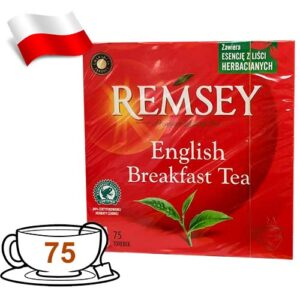 Чай черный Remsey English Breakfast Tea 75 пакетов Польша