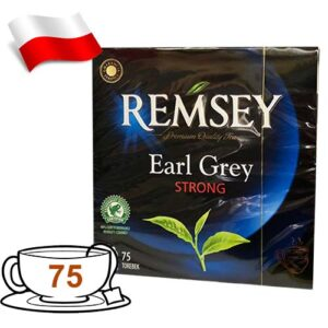 Чай черный Remsey Earl Grey 75 пакетов Польша