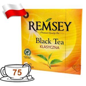 Чай черный Remsey Black Tea 75 пакетов Польша