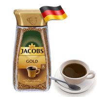 Растворимый кофе Jacobs Gold 200 г Германия