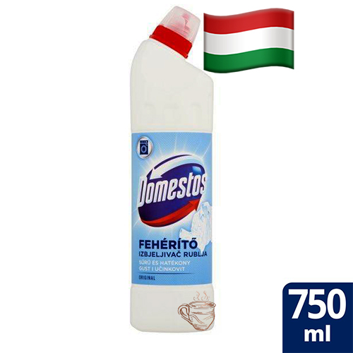 Отбеливатель с хлором Domestos 750мл Венгрия
