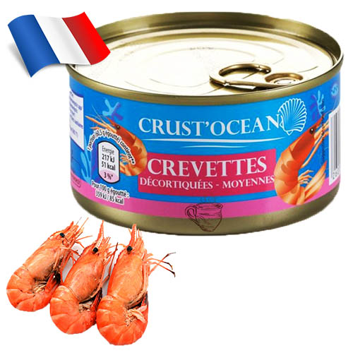 Креветки Crust Ocean 200г Франция