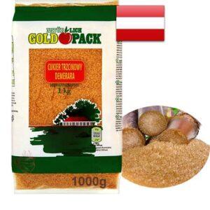 Сахар из тросника Gold Pack 1кг Австрия