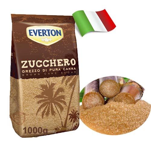 Сахар из тросника Everton 1кг Италия