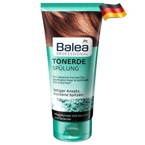 Профессиональный кондиционер для жирных волос Balea Tonerde 200мл Германия