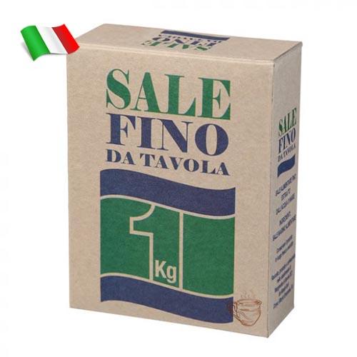 Соль морская мелкого помола 1кг Италия