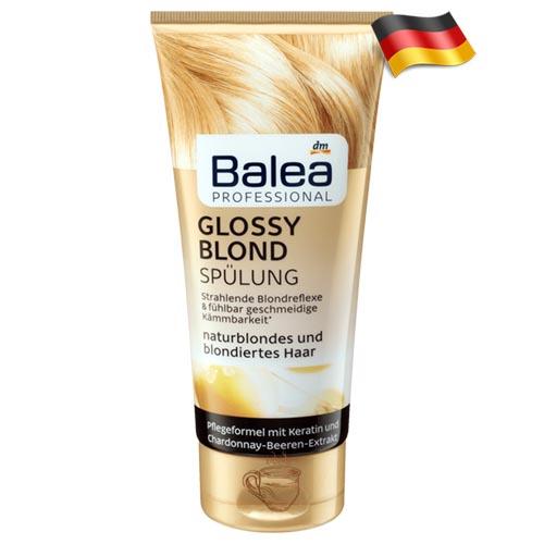 Профессиональный кондиционер для светлых волос Balea Glossy Blond 200 мл Германия